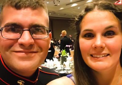 Milspouse LOVE STORY-Megan and Sean Slaton